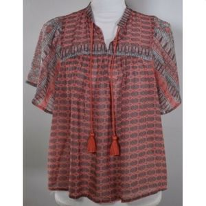 Lucky Brand women's blouse size small top shirt